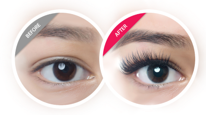 Amazing Lash before and after