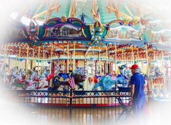 David at carousel